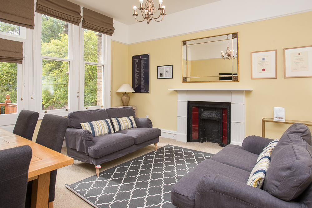 Anne McLaren House communal space