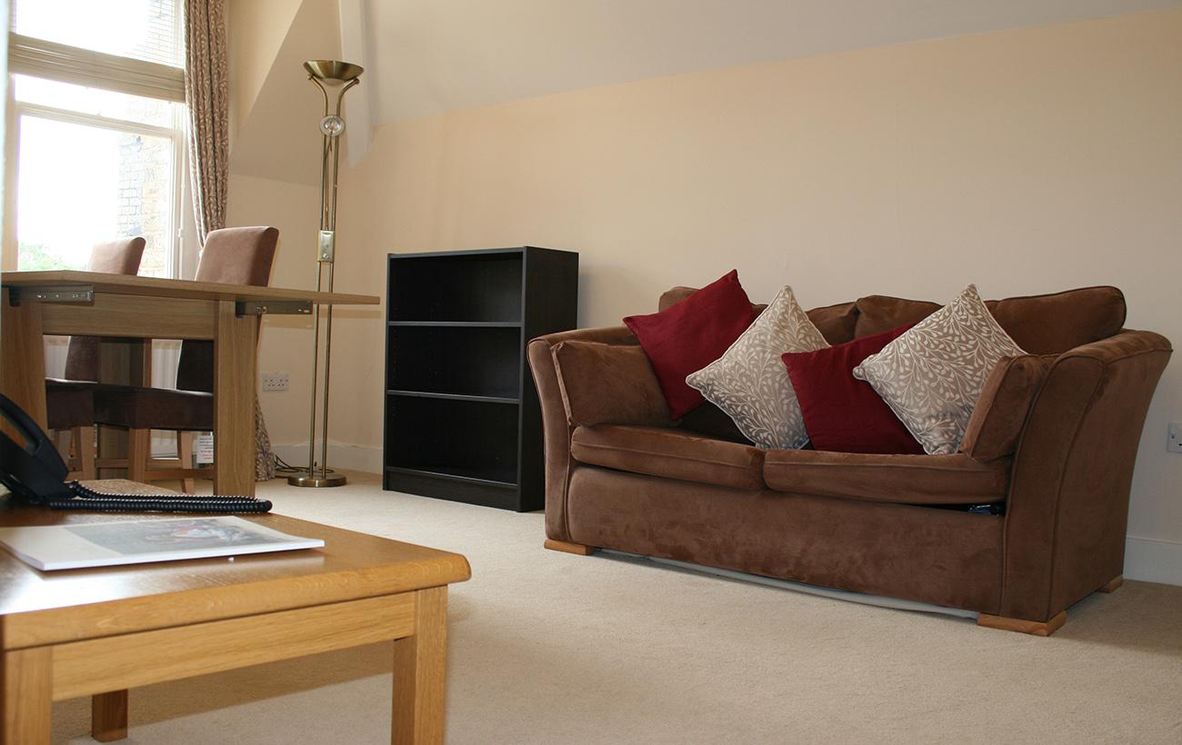 Fellows' Flat living room