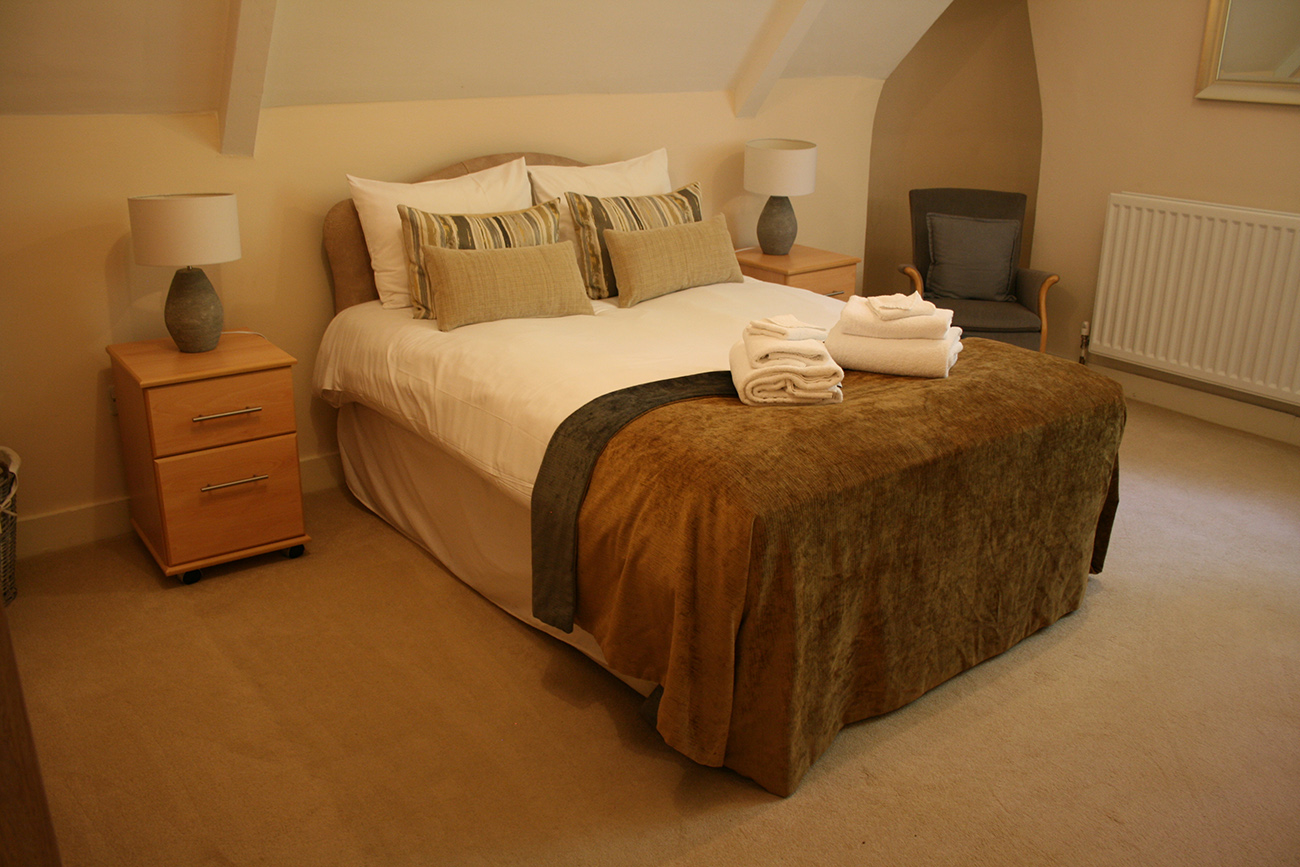 Fellows' Flat bedroom
