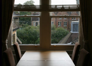 Fellows' Flat dining area