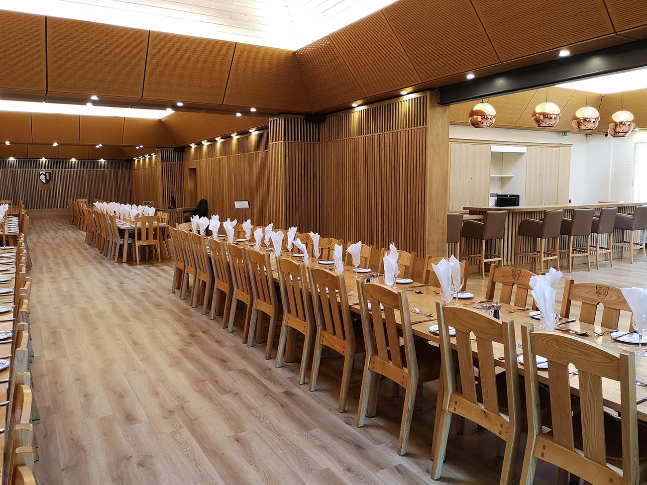Dining Hall and bar