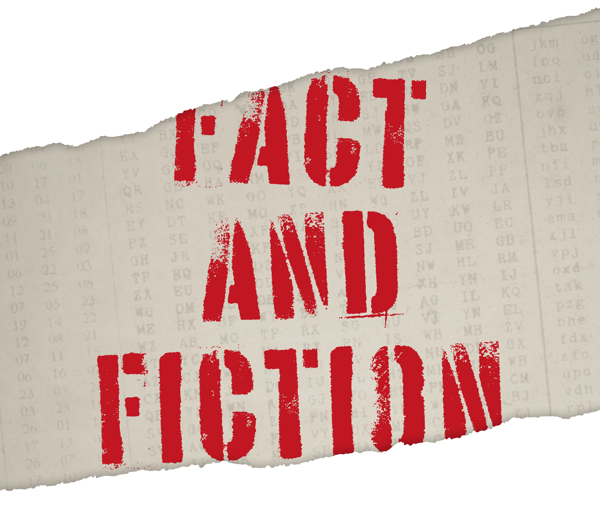 fact and fiction graphic