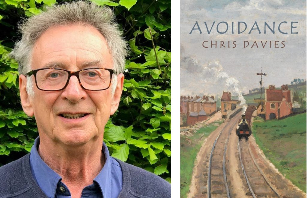 image of Chris Davies and his book cover